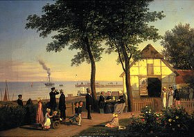 Andreas Thomas Juuel: Das alte Gasthaus in Vedboek