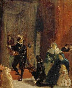 Edgar Degas: Erinnerung an Velazquez