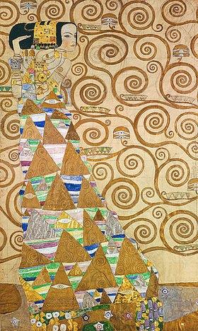 Gustav Klimt: Die Erwartung, Vorlage zum Stocletfries