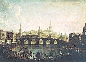 Fjodor Jakowlewitsch Aleksejew: Blick auf den Moskauer Kreml und die Kammeny-Brücke