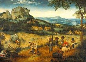 Pieter Brueghel d.Ä.: Die Heuernte