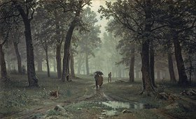 Iwan Iwanowitsch Schischkin: Regen im Eichenwald