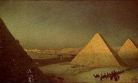 Iwan Konstantinovich Aiwassowskij: Die Pyramiden von Gizeh