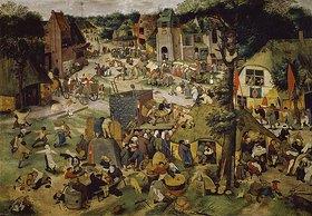 Pieter Brueghel d.J.: Die Hoboken- oder St.Georgs- Kirchweih