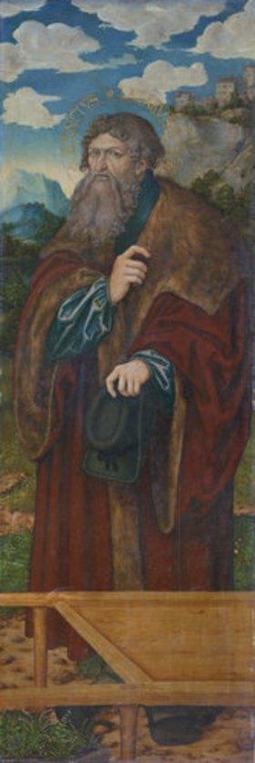 Lucas Cranach d.Ä.: Magdalenenaltar: Der hl. Lazarus