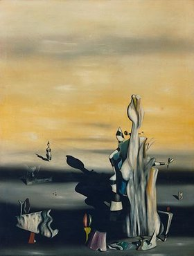 Yves Tanguy: La Dame a l'absence