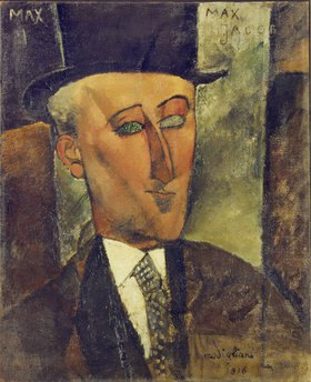 Amadeo Modigliani: Bildnis Max Jacob