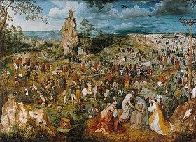 Pieter Brueghel d.Ä.: Die Kreuztragung Christi