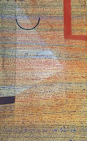 Paul Klee: Halbkreis zu Winklige
