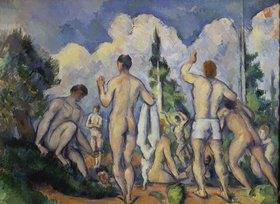 Paul Cézanne: Die Badenden. Gegen