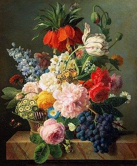 Jan Frans van Dael: Blumen und Früchte