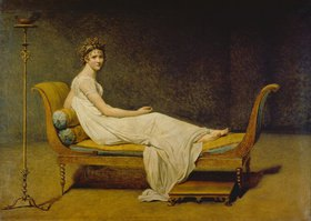 Jacques Louis David: Bildnis Madame Récamier