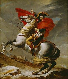 Jacques Louis David: Napoleon bei der Überquerung der Alpen
