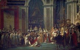 Jacques Louis David: Krönung Napoleons I. und Josephines in Notre Dame Paris mit Papst Pius VII