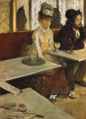 Edgar Degas: Im Café (oder: Der Absinth)