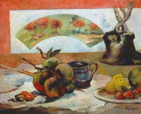 Paul Gauguin: Stilleben mit Fächer. Gegen