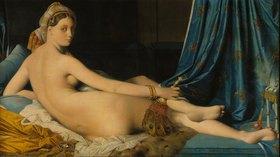 Jean Auguste Dominique Ingres: La grande Odalisque