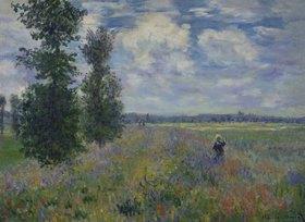 Claude Monet: Les Coquelicots (environs de Argenteuil)