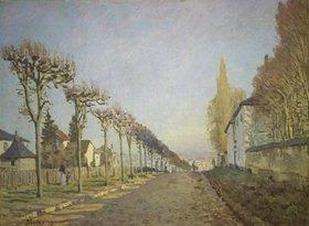 Alfred Sisley: Chemin de la Machine (oder: La route du chemin de Sèvres)
