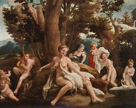 Correggio (Antonio Allegri): Leda und der Schwan