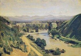Jean-Baptiste Camille Corot: Die Brücke von Narni