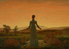Caspar David Friedrich: Frau in der Morgensonne
