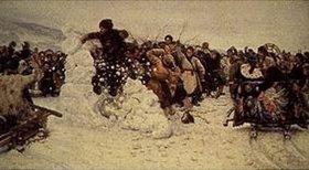 Wassilij Iwanowitsch Surikow: Die Eroberung der Schneeburg auf der Tutschkow-Brücke in St.Petersburg