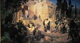 Vasilij Dimitrijew Polenow: Christus und die Sünderin