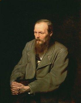 Wassili Perow: Bildnis Fjodor Dostojewski