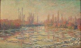 Claude Monet: Eisschollen auf der Seine bei Vetheuil