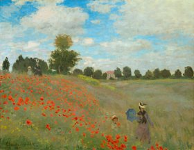 Claude Monet: Mohnfeld bei Argenteuil