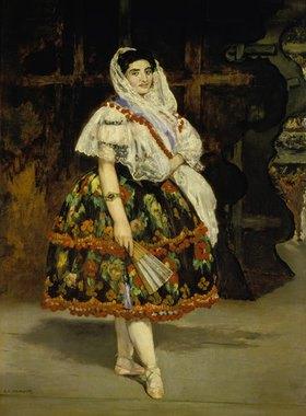 Edouard Manet: Lola de Valence (Lola Melea, die spanische Tänzerin)