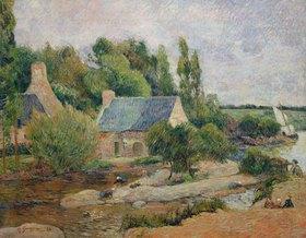 Paul Gauguin: Die Wäscherinnen von Pont-Aven