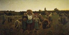 Jules Breton: Das Ährensammeln (Le Rappel des Glaneuses)