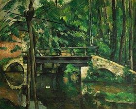 Paul Cézanne: Die Brücke in Maincy. Gegen