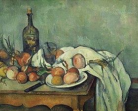Paul Cézanne: Stilleben mit Zwiebeln. Gegen