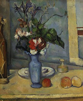 Paul Cézanne: Die blaue Vase. Gegen