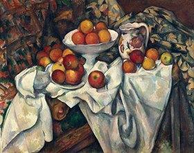 Paul Cézanne: Stilleben mit Äpfeln und Orangen