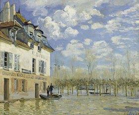 Alfred Sisley: Überschwemmung in Port-Marly (Das Boot)