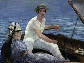 Edouard Manet: Die Bootspartie