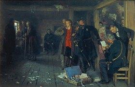 Ilja Efimowitsch Repin: Die Verhaftung eines Propagandisten