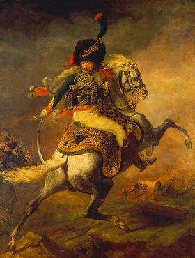 Théodore Géricault: Kavallerieoffizier der kaiserlichen Garde zu Pferde