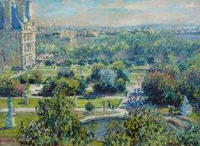 Claude Monet: Die Tuilerien in Paris