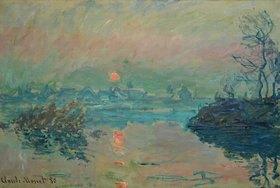Claude Monet: Untergehende Sonne