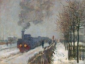 Claude Monet: Der Zug im Schnee (oder: Die Lokomotive)