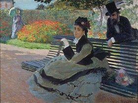 Claude Monet: Auf der Parkbank