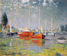 Claude Monet: Die roten Boote, Argenteuil