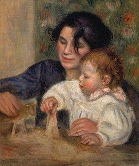 Auguste Renoir: Gabrielle und Jean