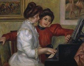 Auguste Renoir: Yvonne und Christine Lerolle am Klavier