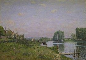Alfred Sisley: Der Kanal Saint-Martin